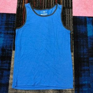 Ultimate Tank Men's Small Blue Sleeveless Tank Top